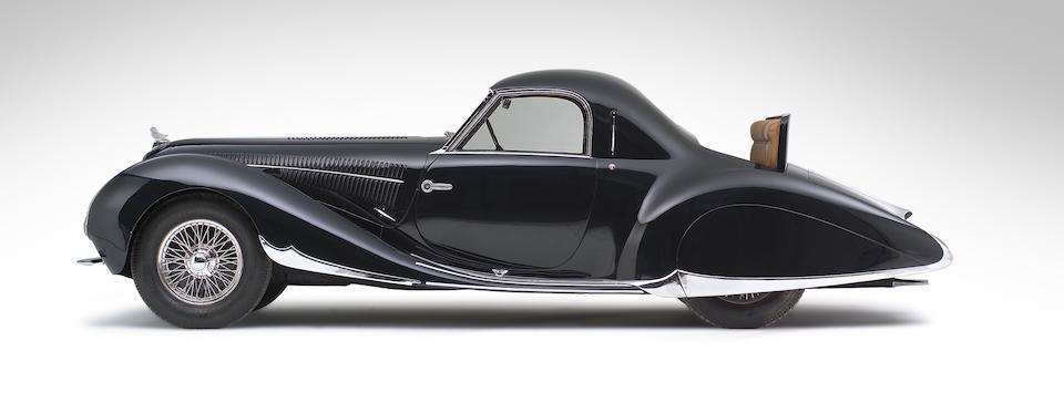 The 1938 Paris Salon,1938 Delahaye 135 MS Coupé  Chassis no. 60112
