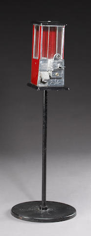 A gumball machine Height: 47in