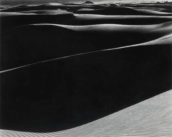 Edward Weston (American, 1886-1958); Dunes, Oceano, California;
