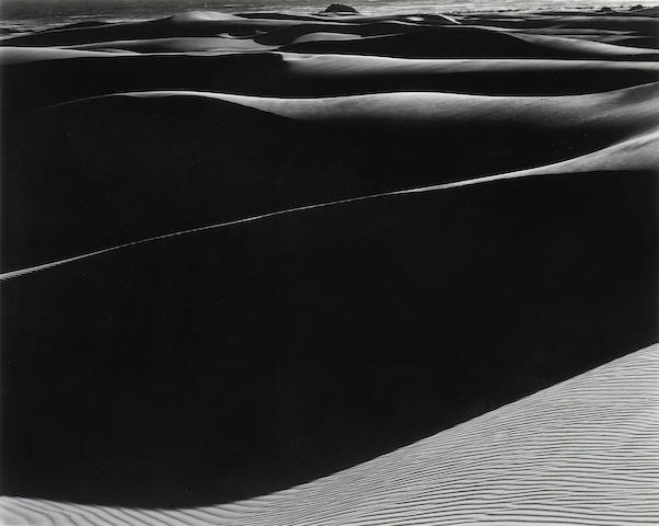 Edward Weston; Dunes, Oceano, California;
