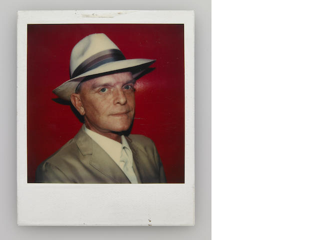 Truman Capote Polaroid Shot by Andy Warhol