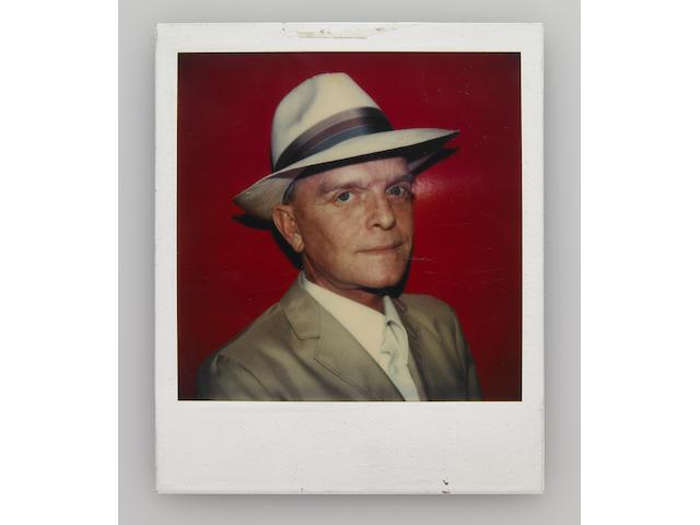 A Polaroid shot by Andy Warhol