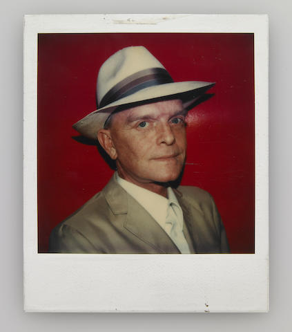 A Polaroid shot by Andy Warhol