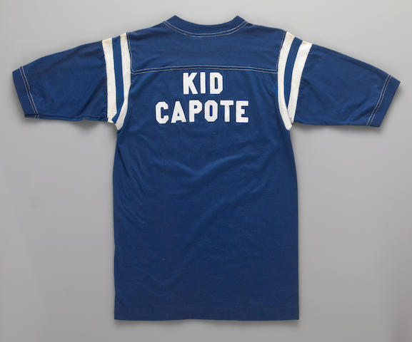 "A ""Kid Capote"" t-shirt"