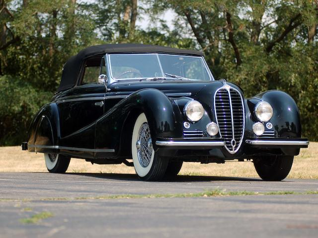 1947 Delahaye 135M Cabriolet  Chassis no. 801339