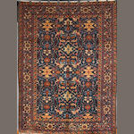 A Tabriz carpet size approximately 10ft 3in x 7ft 8in