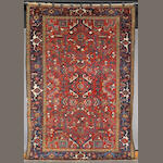 A Heriz carpet size approximately 10ft 7in x 7ft 5in