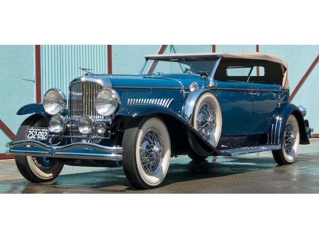 1929 Duesenberg Convertible Sedan  Chassis no. 2253 Engine no. J245