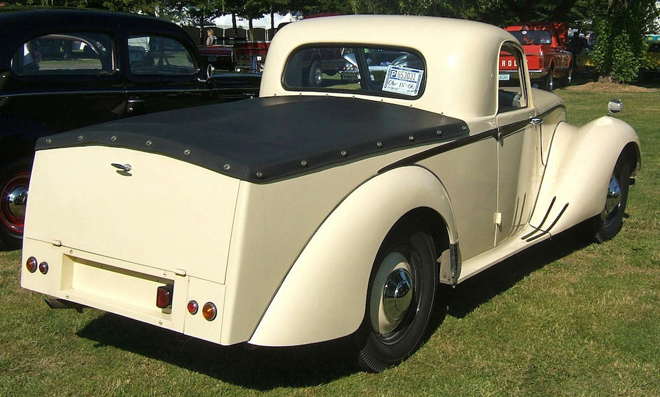 1952 Armstrong Siddeley Utility Coupe  Chassis no. SM1810701