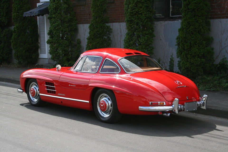 1956 Mercedes-Benz 300SL 'Gullwing' Coupé  Chassis no. 6500287