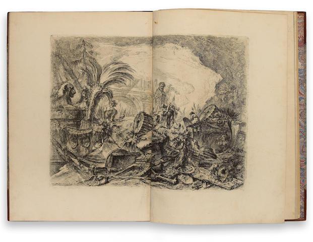 Giovanni Battista Piranesi; Opere Varie di Architettura, prospettiva, grotteschi, antichità; (33)