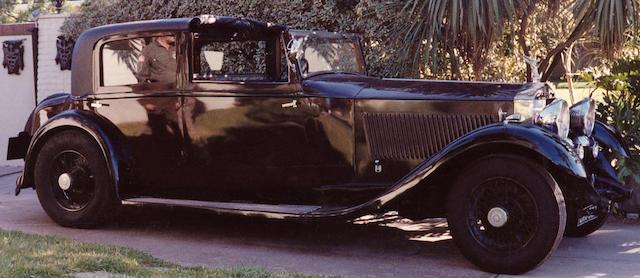 1933 Rolls-Royce 40/50hp Phantom II Sedanca de Ville 115TA