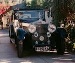 1933 Rolls-Royce 40/50hp Phantom II Sedanca de Ville  Chassis no. 115TA