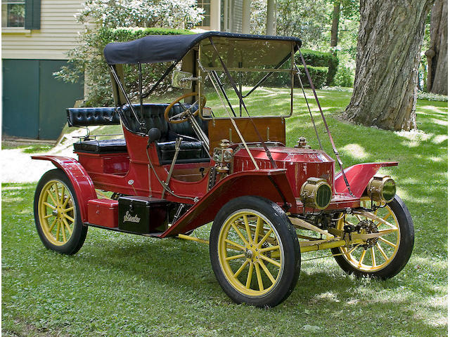 1910 Stanley Steamer 10hp Model 60 Runabout  Chassis no. 545