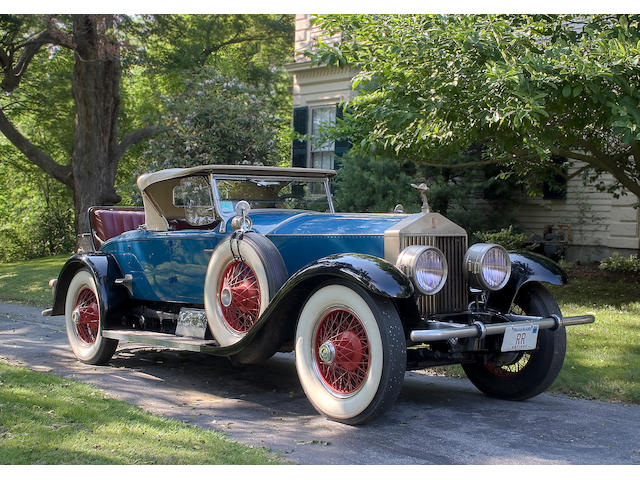 1927 Rolls-Royce 40/50hp Phantom I Piccadilly Roadster  Chassis no. S454FL Engine no. 20546 Body no. M1388