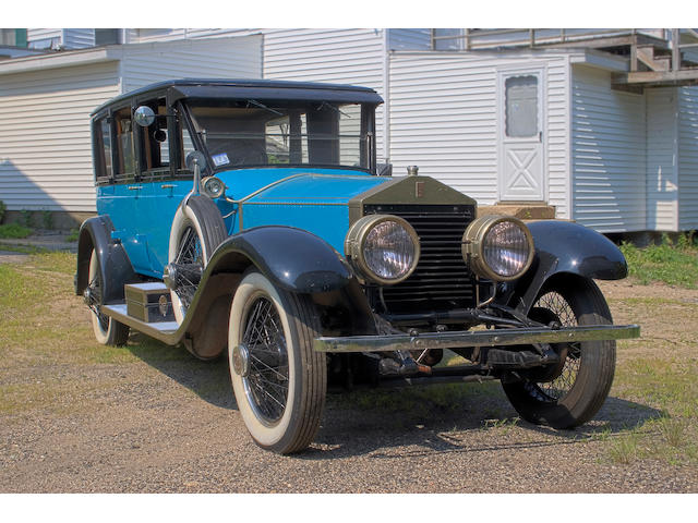 1924 Rolls-Royce 40/50hp Silver Ghost Pickwick Sedan  Chassis no. 434HH Engine no. 22-109