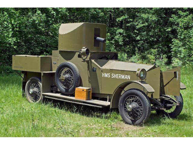 1914-1918 Rolls-Royce 40/50hp Armored Car Replica - 'HMS Sherman'  Chassis no. S286PK Engine no. 21864