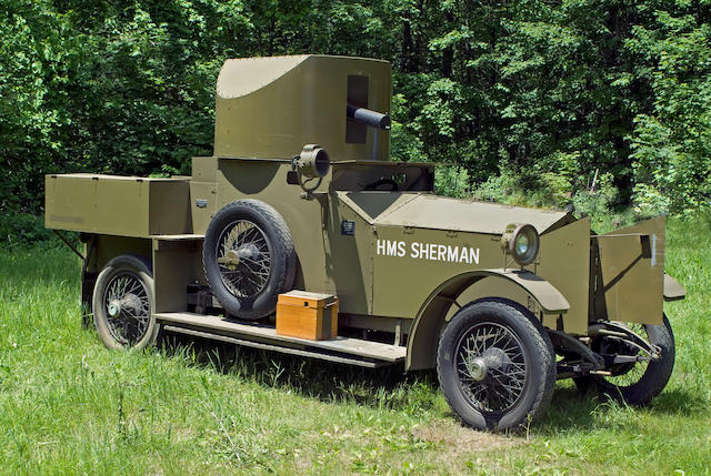 1914-1918 Rolls-Royce 40/50hp Armored Car Replica - 'HMS Sherman'  Chassis no. S286PK Engine no. 21864