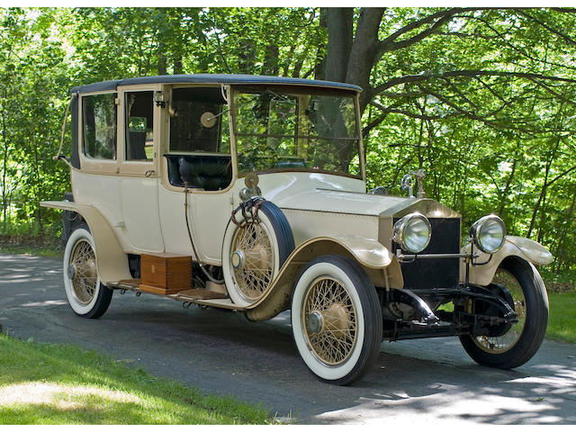 1924 Rolls-Royce 40/50hp Silver Ghost Landaulette  Chassis no. 88 RM Engine no. T 105