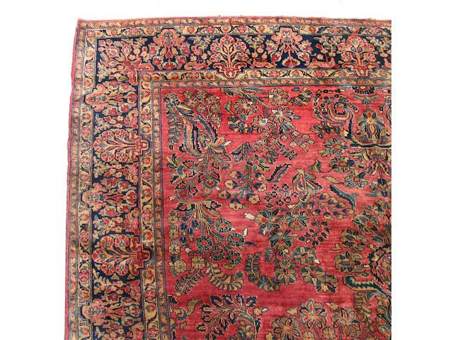 A Sarouk carpet