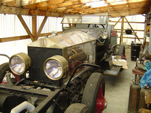 1925 Rolls-Royce 40/50hp Silver Ghost Display Chassis  Chassis no. S287PK Engine no. 21874