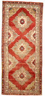 A Ghiordes carpet West Anatolia size approximately 5ft x 11ft