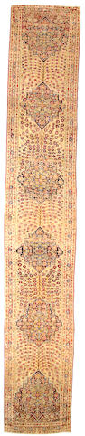 A Lavar Kerman runner South Central Persia size approximately 3ft 2in x 17ft 8in