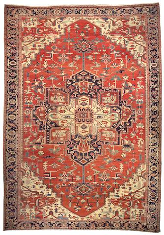 A Serapi carpet Northwest Persia size approximately 11ft. x 16ft.