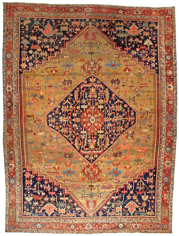A Bakshaish carpet Northwest Persia size approximately 12ft. 8in. x 17ft. 1in.