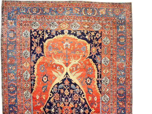 A Serapi carpet Northwest Persia size approximately 16ft 4in x 24ft 4in