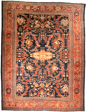 A Zeigler Mahal carpet Central Persia size approximately 14ft x 18ft