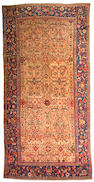 A Fereghan Sarouk carpet Central Persia size approximately 8ft 4in x 17ft 2in