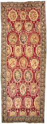 A Karabagh carpet Caucasian size approximately 6ft 9in x 17ft 10in
