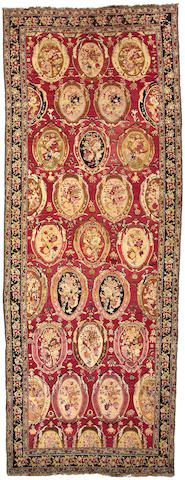 A Karabagh carpet Caucasian, size approximately 6ft. 9in. x 17ft. 10in.
