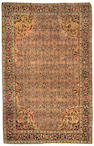A Pair of Farahan Sarouk rugs Central Persia size approximately 4ft 3in x 6ft 8in