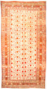 A Khotan carpet Turkestan size approximately 9ft x 17ft 7in