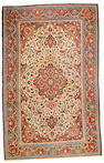 A Dabir Kashan rug Central Persia size approximately 4ft 6in x 7ft