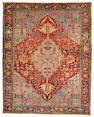 A Heriz carpet Northwest Persia size approximately 9ft 6in x 11ft 10in