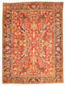 A Heriz carpet Northwest Persia size approximately 9ft 9in x 13ft