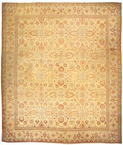 An Amritsar carpet India size approximately 13ft. 6in. x 16ft.
