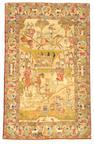 A Kerman rug South Central Persia size approximately 4ft 6in x 7ft 3in
