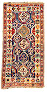 A Kazak runner Caucasian size approximately 3ft 10in x 7ft 8in