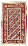 A Genge rug Caucasian size approximately 4ft 5in x 7ft 2in