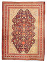 A Malayer carpet Central Persia size approximately 7ft 7in x 10ft 2in