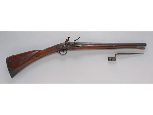 An important American officers fusil