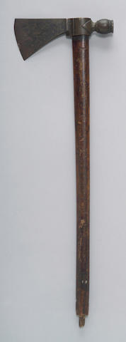An American pipe tomahawk