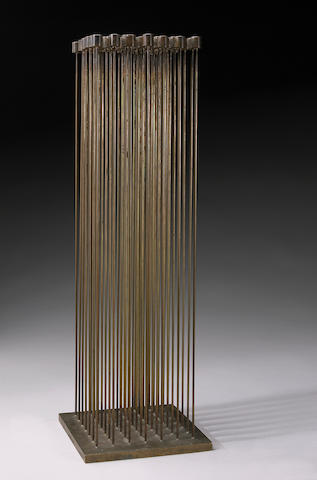 Harry Bertoia (American 1915-1978) Untitled (Sound Sculpture) height with base 25in (63.5cm)