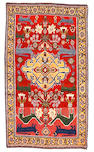 A Qashq'ai rug Southwest Persia size approximately 4ft 4in x 7ft 6in