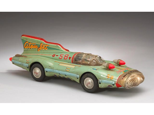 An Atomic Jet #58 Racer, 1950s,