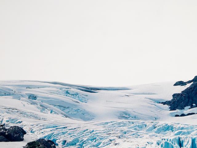 Axel Hutte (German, 1951); Explorer Glacier III, Alaska;